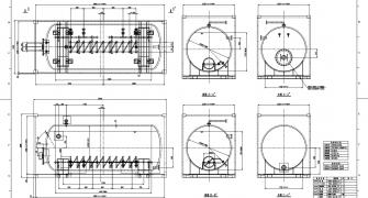 組図・部品図・構造図の図面作成